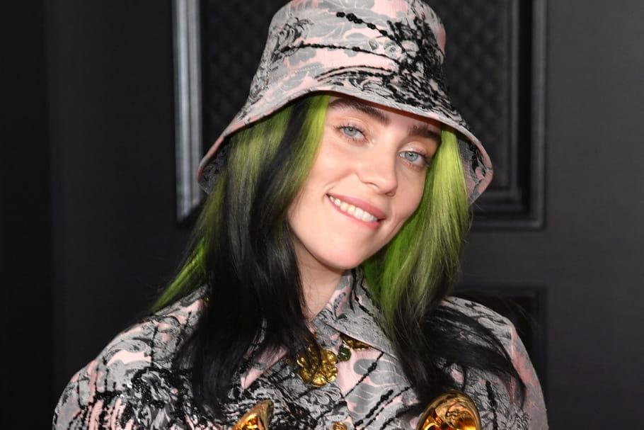 Billie Eilish, son look lingerie en Une du Vogue anglais