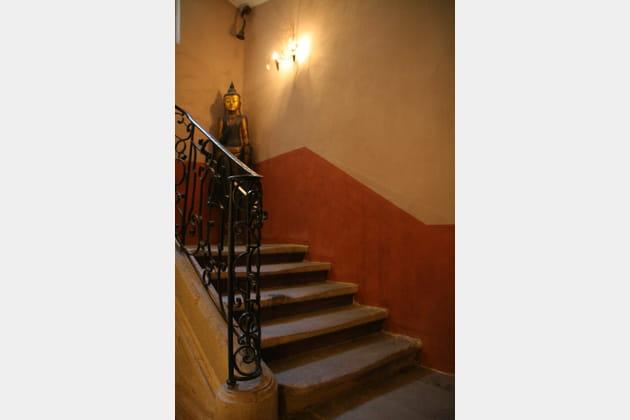 Escalier exotique