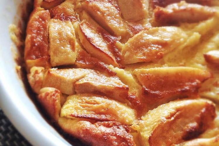 Gâteau aux pommes breton