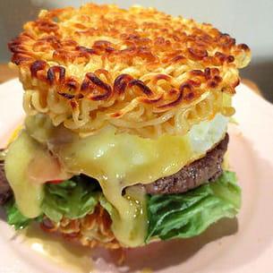 ramen burger ou la folie culinaire japonaise