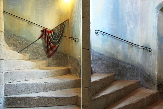 Vent d'ouest aux escaliers