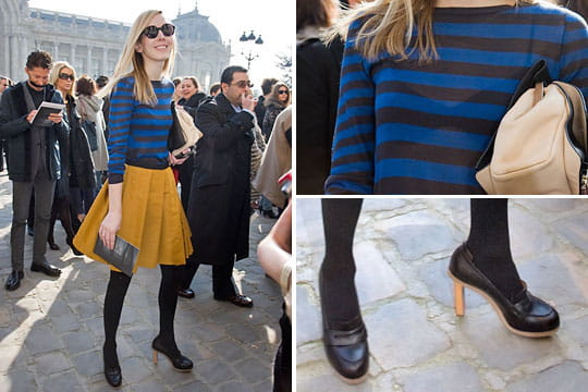 Fashion week : les street looks des défilés parisiens PAP automne-hiver 2011-2012 73