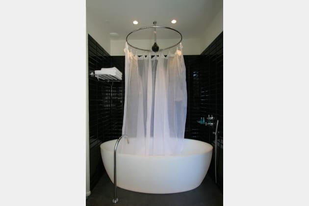 Une baignoire convertible