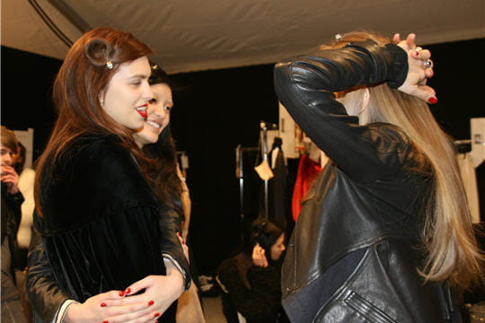Fashion week : défilé Guy Laroche, prêt-à-porter automne-hiver 2011-2012 Retrouvailles mannequins