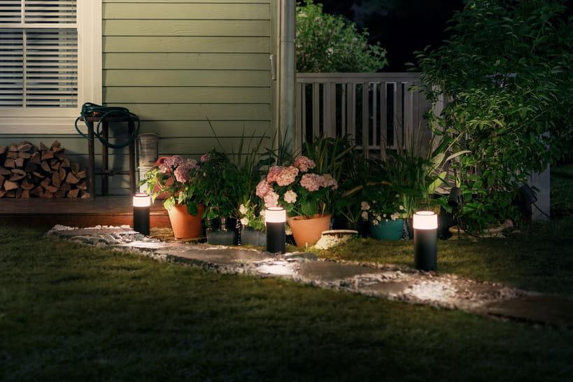 18luminaires pour éclairer jardin et terrasse