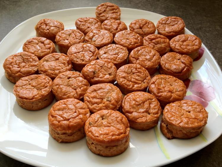 Recette de petits bouchons au thon la recette facile - Cuisiner du thon en boite ...