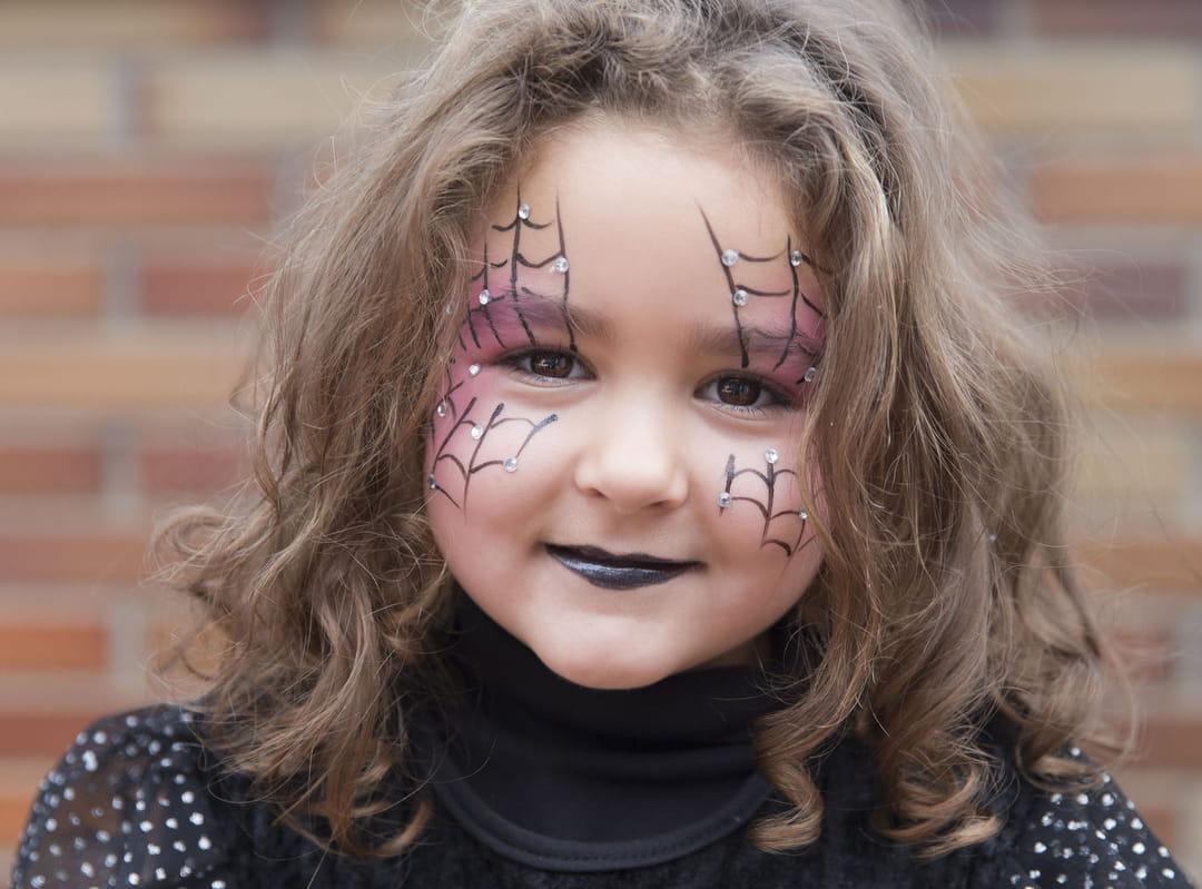 maquillage-halloween-araignee