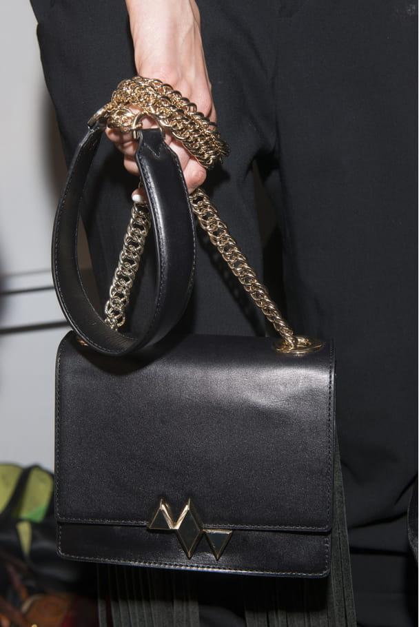 Le sac à main bandoulière du défilé Marissa Webb