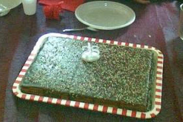 Le gâteau aux galettes LU
