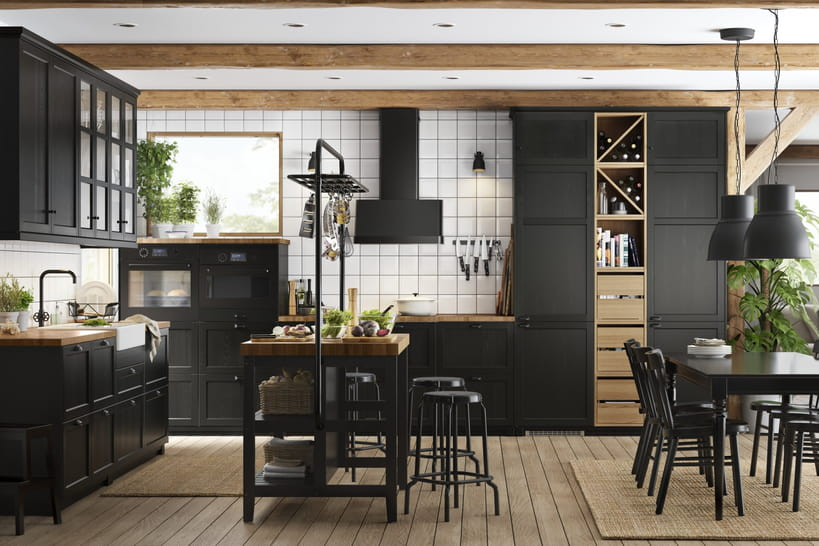 Les nouvelles cuisines ikea nous mettent l 39 eau la bouche - Couleur de cuisine ikea ...