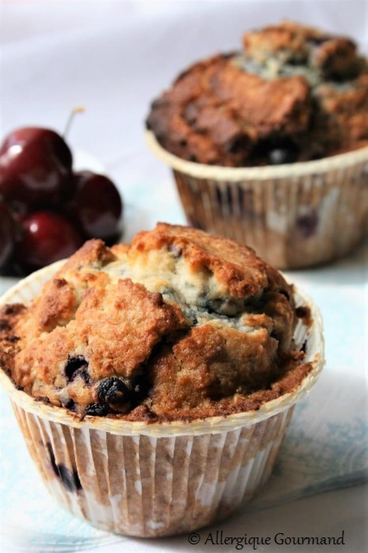 Recette de Muffins myrtilles et noix de coco