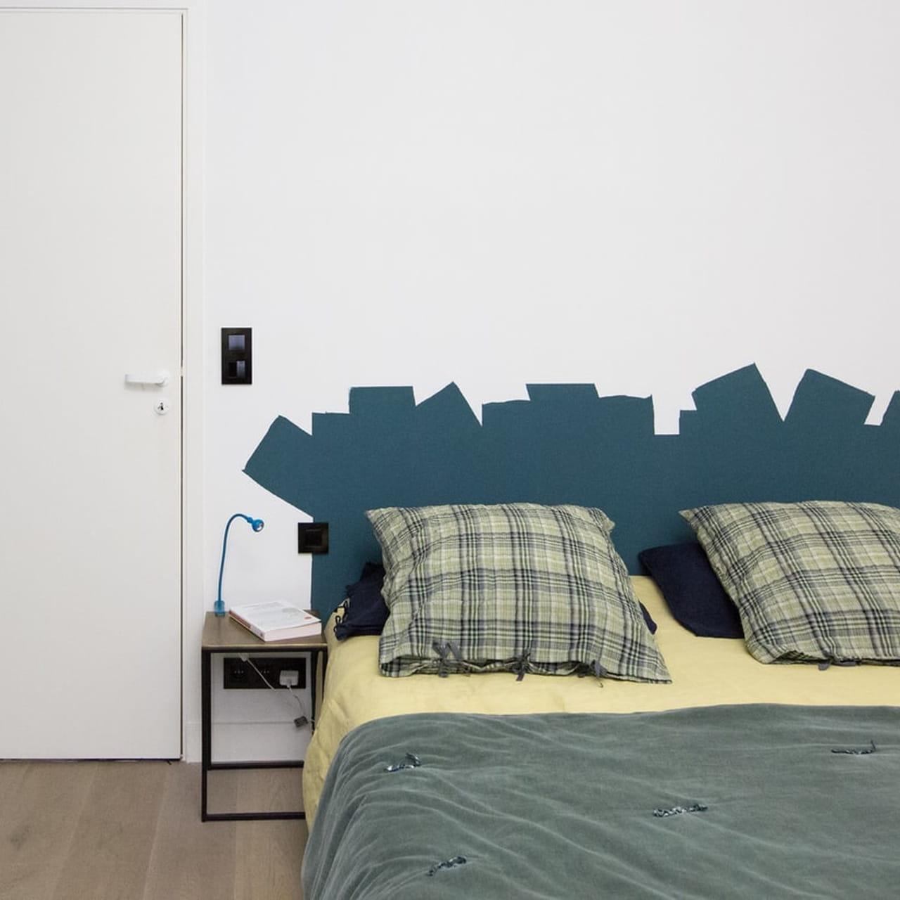 Comment faire une tête de lit en peinture ?