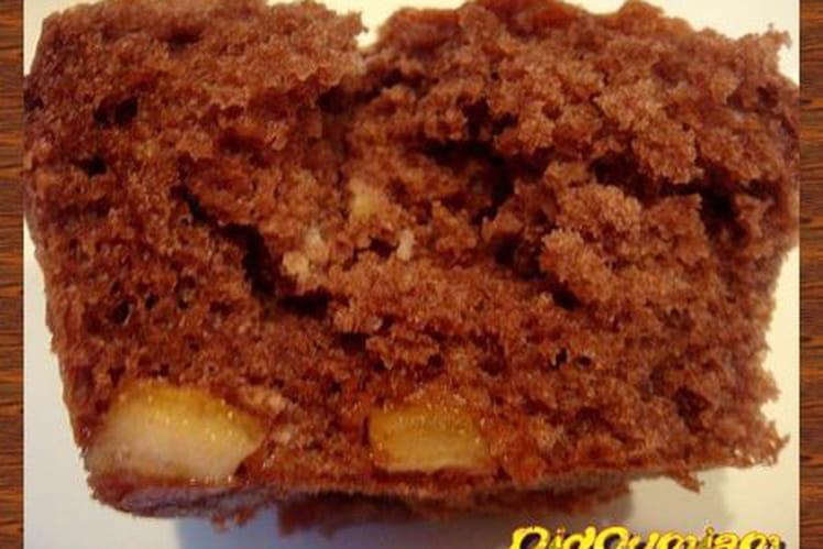 Muffins au cacao et aux écorces d'orange confites