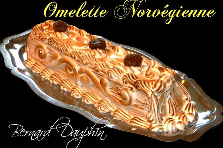 Omelette norvégienne aux marrons glacés