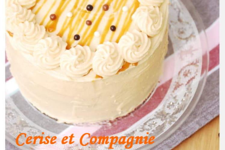 Gâteau indécent banane-caramel