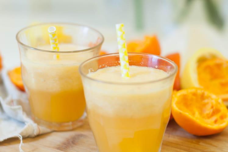 Jus vitaminé mandarines, pomme, citron