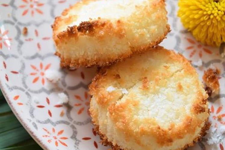 Palets bretons à la noix de coco