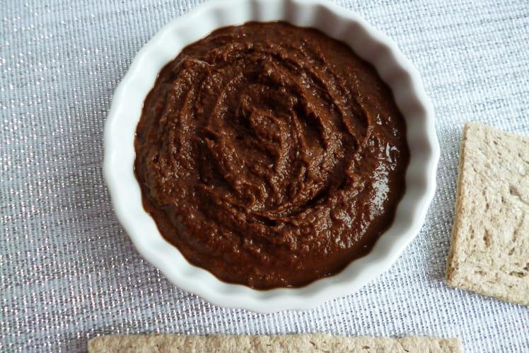 Tartinade diététique végétalienne au ChiCafé bio et cacao Flavochino
