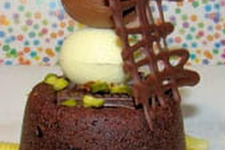 Fondant au chocolat de Pâques