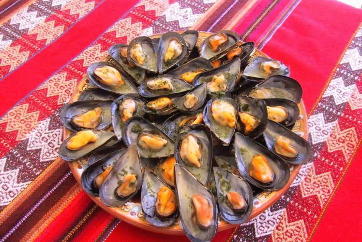 Moules thaï