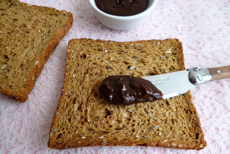 Tartinade allégée chocolat noisette et chicorée