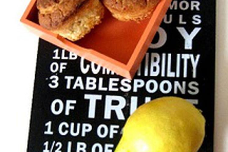 Muffins amande citron