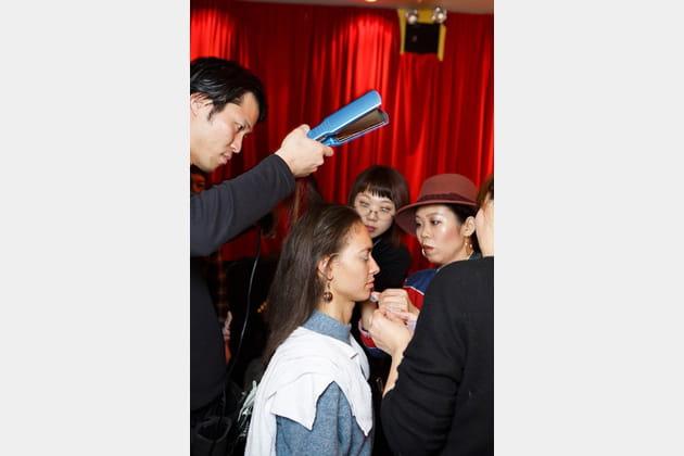 Yuna Yang (Backstage) - Automne-Hiver 17-18