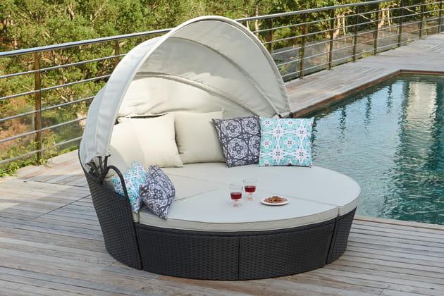 Canapé rond de gifi