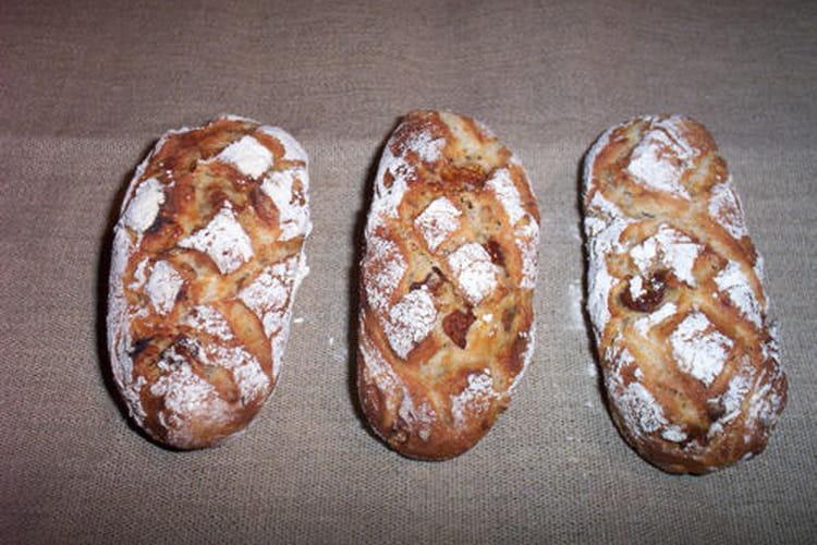 Petits pains aux figues et noix