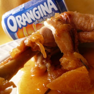 poulet très orangina
