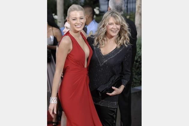 Blake Lively et sa mère Elaine Lively