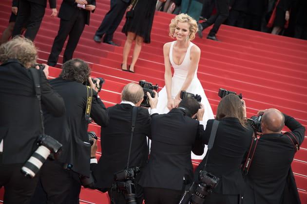Eva Herzigova se prend pour Marilyn Monroe