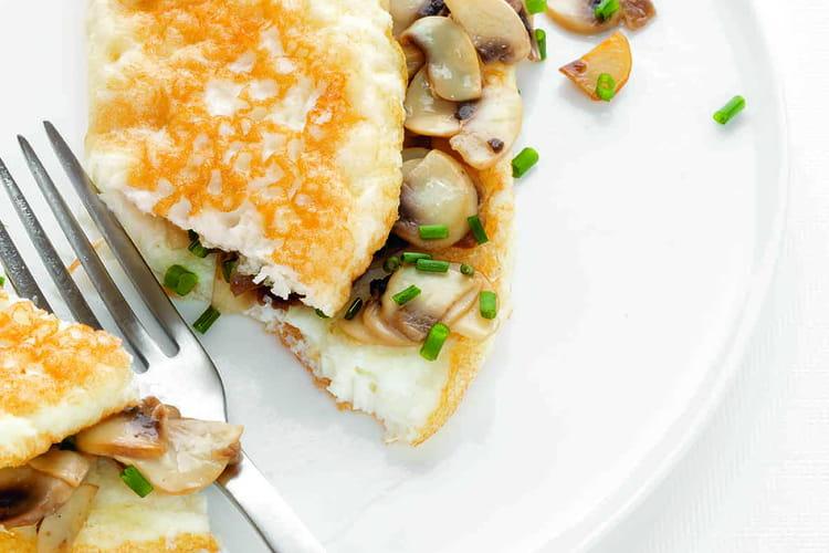 Omelette blanche