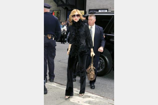 Madonna le 20octobre 2005