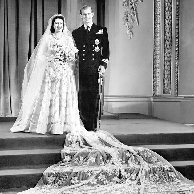 La future Elizabeth II épouse Philip
