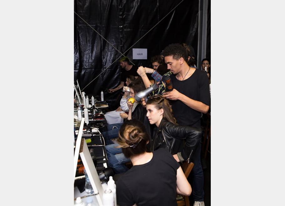 Byblos Milano (Backstage) - Printemps-été 2017