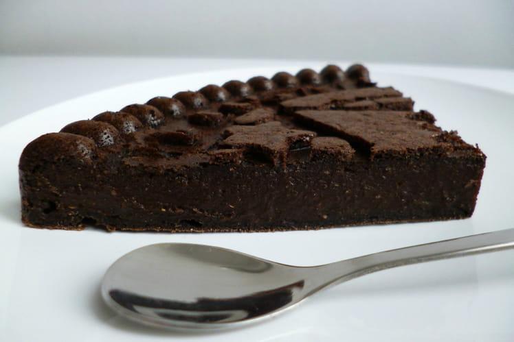 Gâteau fondant au cacao black onyx avec protéines de chanvre