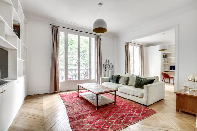 Un grand appartement lumineux et optimisé