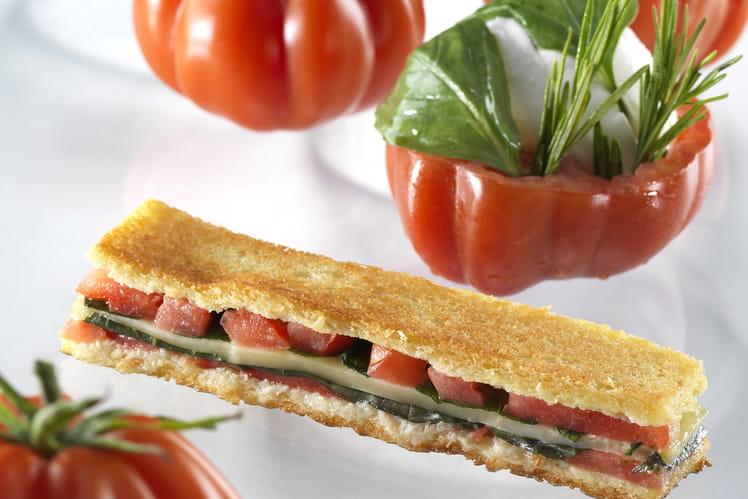 Croque tomate Cœur-de-Boeuf