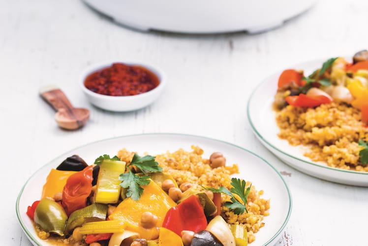 Couscous de boulgour végétarien