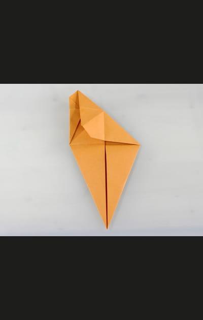 Origami chat - Etape 6