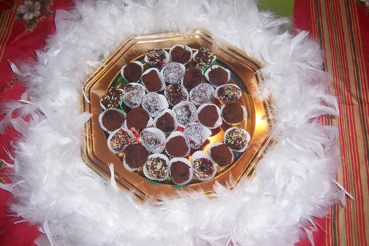 Truffes de Noël surprise