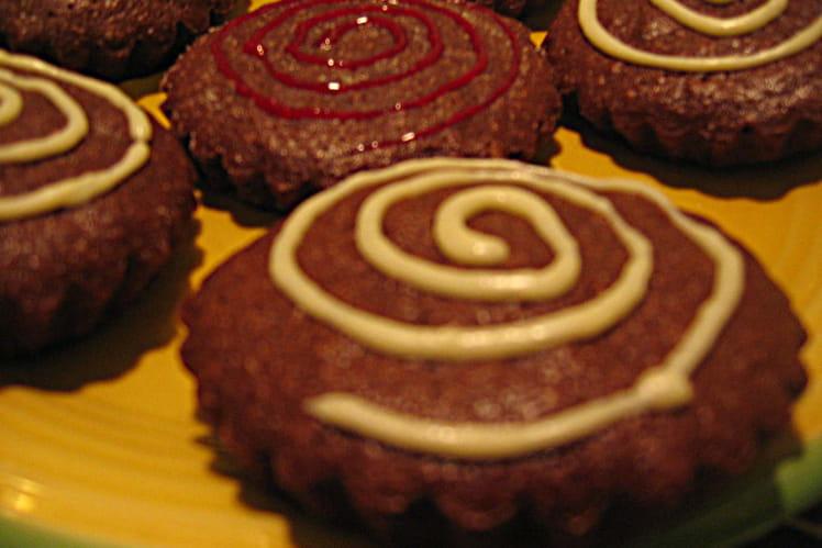 Tartelettes au chocolat sans pâte
