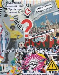 affiche de la journée nationale de lutte contre l'hypertension