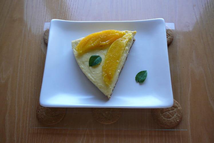 Cheesecake aux mangues