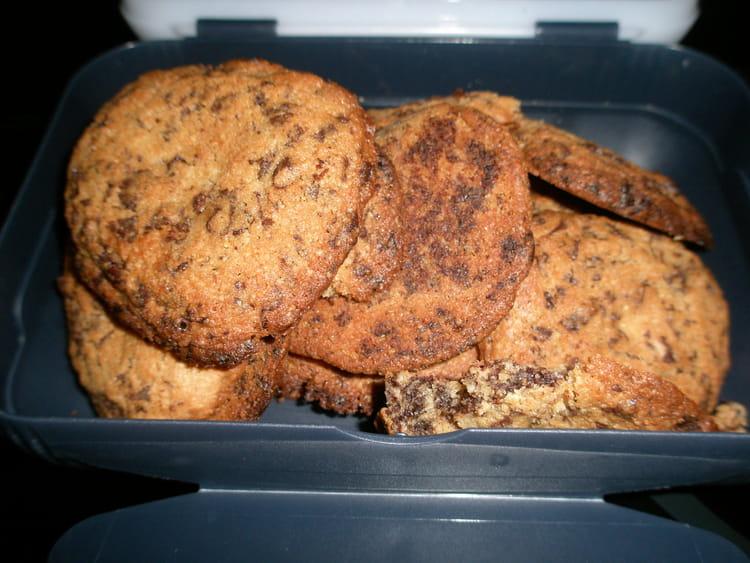 Recette De Cookies Maison A La Poudre D Amandes La Recette Facile