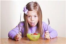 mon enfant boude les légumes