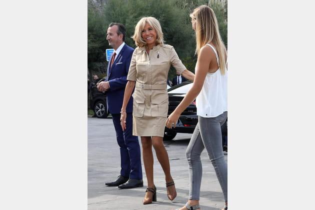 Brigitte Macron le 26août 2019