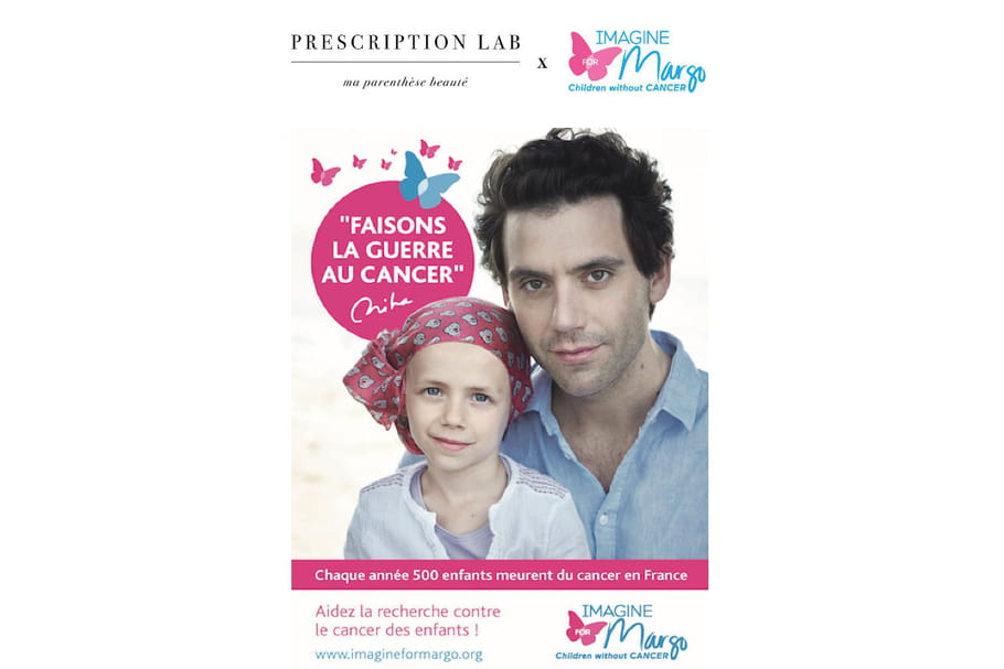 Prescription Lab se mobilise contre le cancer des enfants