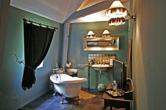 La salle de bains Chat Botté